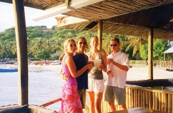 Basil's Bar in Mustique